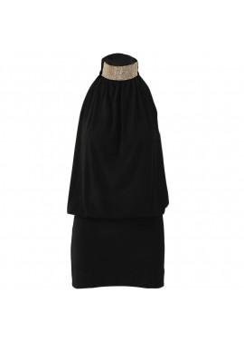 Εξώπλατο φόρεμα με ζιβάγκο